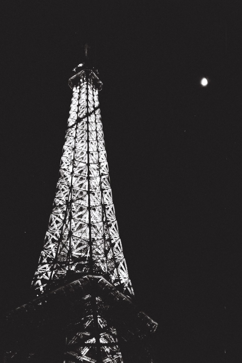 Moon over Paris